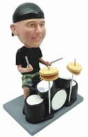 Drummer custom bobblehead doll 2