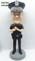 Police man personalized bobblehead doll 3