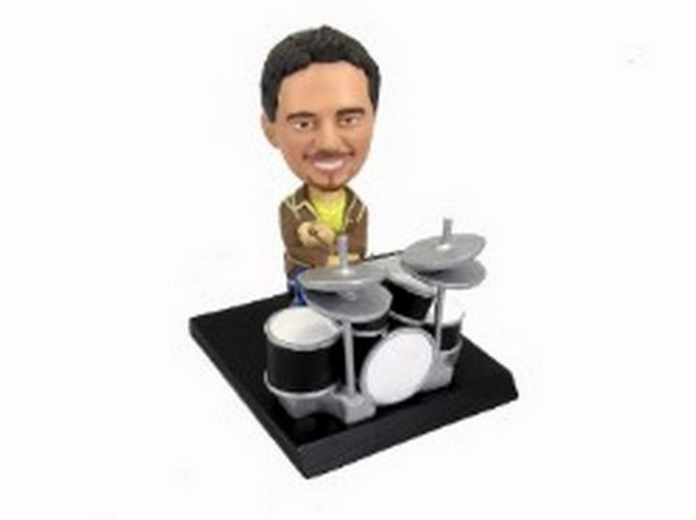 Drummer custom bobblehead doll