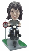 Scooter custom bobblehead doll 2