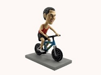 Man Bicycle-Rider custom bobblehead doll