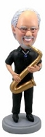 Saxophone Custom Bobble Head | Gift Ideas For Men