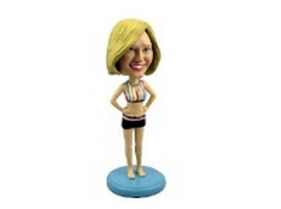 Custom Bobble Head Girl In Bathing Suit | Gifts For Women