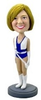 Cheerleader custom bobblehead doll