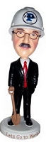 Executive Builder Man Personalized Bobble Head