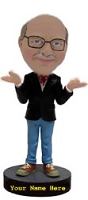 Casual Business Man custom bobblehead doll