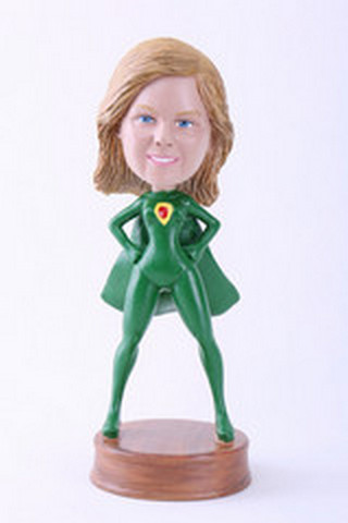 Super girl 10 custom bobblehead doll Premium (bobbing doll)