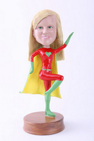 Super girl 2 custom bobblehead doll Premium