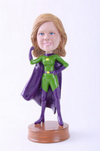 Super girl 3 custom bobblehead doll Premium