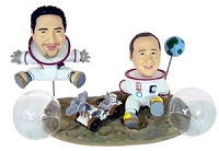 Moon Trekker Couple Custom Bobble Head | Gift Ideas For Couples