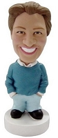 Man Casual Custom Bobble Head | Gift Ideas For Men