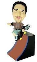 Skateboard Custom Bobble Head (Bobbing )