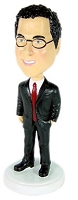 Executive Suit 2 Custom Bobble Head | Gift Ideas For Men