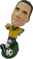 Soccer Goal Custom Bobble Head (Bobbing )