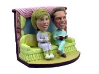 Lazy Night Couple Custom Bobble Head | Gift Ideas