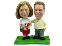 Happy Couple Personalized Bobble Head | Gift Ideas For Couples