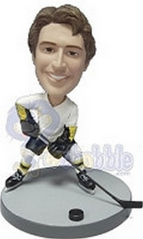 Hockey custom bobblehead doll  (NEW LEFT)