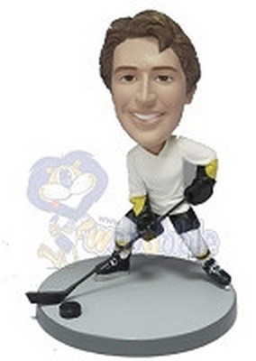 Hockey custom bobblehead doll  (NEW)