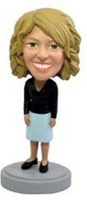 Custom Bobble Head Office Worker Nice Dress | Gifts For Women