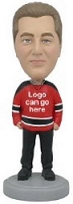 Hockey Jersey custom bobblehead doll