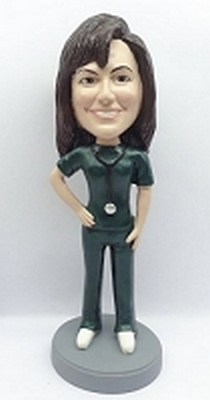 Custom Bobble Head Female Nurse / Doctor (4) | Gifts For Women