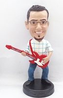 Guitar Custom Bobble Head 6 | Gift Ideas For Men