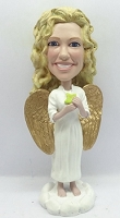 Custom Bobble Head Angel 2 | Gifts For Women