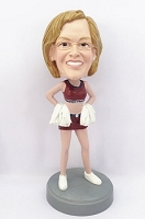 Cheerleader custom bobblehead doll 2
