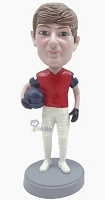 Football Custom Bobble Head 9 (Bobbing )