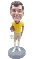 Football Custom Bobble Head 10 (Bobbing )
