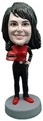 Custom Bobble Head Female Race Car Driver | Gifts For Women