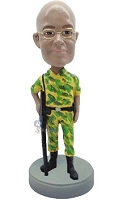 Military Custom Bobble Head 5 | Gift Ideas For Men