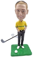 Golfer custom bobblehead doll 5
