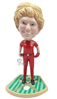 Custom Bobble Head Baseball Gal Pitcher | Gifts For Women