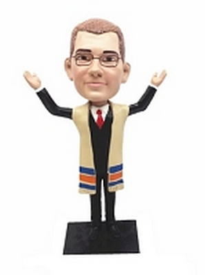 Rabbi / Bar Mitzvah Custom Bobble Head | Gift Ideas For Men