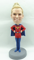 Custom Bobble Head Super Girl | Gifts For Women