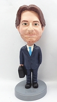 Custom Bobble Head Man With Briefcase 3 | Gift Ideas For Men