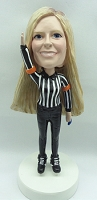 Custom Bobble Head Lady Referee | Gifts For Women