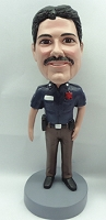 Police Man Personalized Bobble Head 4 | Gift Ideas For Men