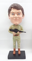 Military Custom Bobble Head 2 | Gift Ideas For Men