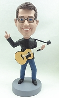 Guitar Custom Bobble Head Acoustic | Gift Ideas For Men