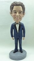 Tuxedo custom bobblehead doll   Man (Suit 4) Bow Tie