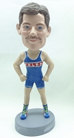 Runner personalized bobblehead doll (Male) 2