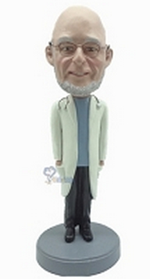 Doctor Custom Bobble Head With Hands In Pocket | Gift Ideas For Men