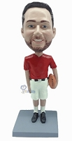 Football Custom Bobble Head 7 (Bobbing )
