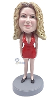 Custom Bobble Head Sexy Outfit 2 | Gifts For Women