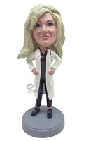 Custom Bobble Head Female Doctor 2 | Gifts For Women