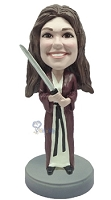 Custom Bobble Head Star Wars Female | Gifts For Women