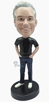 Casual custom bobblehead doll 10