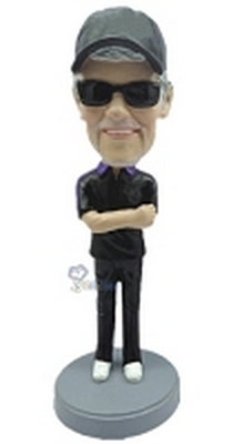 Casual custom bobblehead doll 11